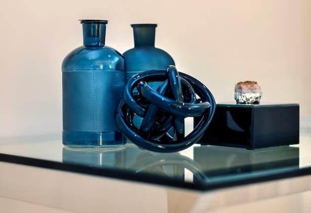 Blue table accessories - Originals Interiors