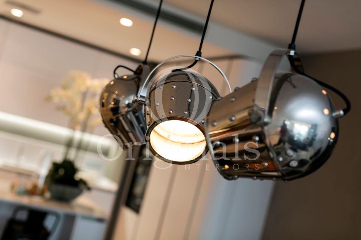 Industrial metallic lights - Originals Interiors