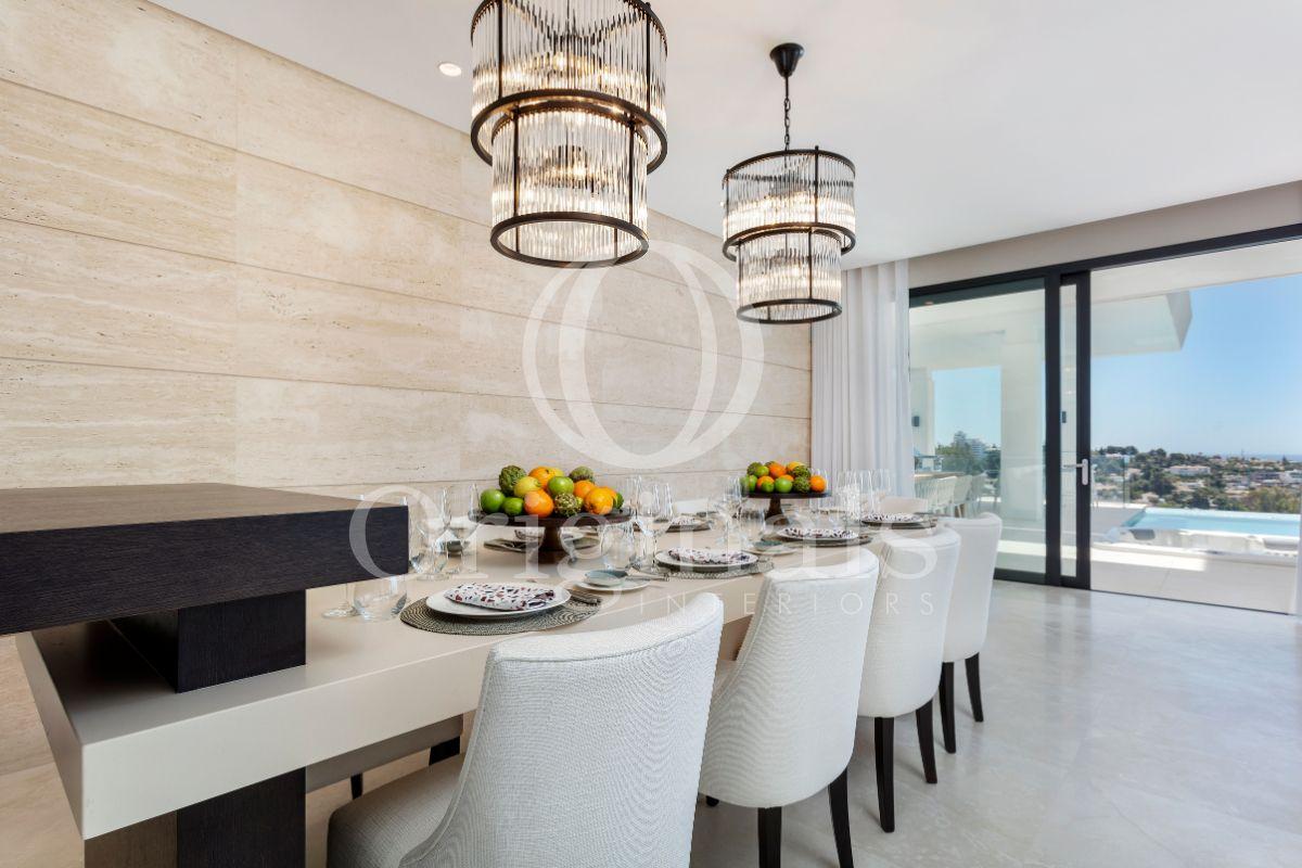 Dining area with luxury furniture - Originals Interiors